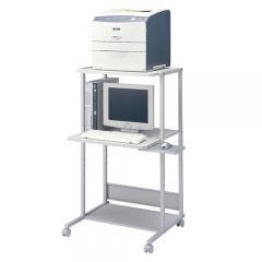業務用パソコンラック(W650×D610×H1150mm・省スペースタイプ)