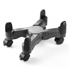 PCワゴン(デスクトップ用・キャスター付・ほこり対策・W70~240mm対応・無段階調節)