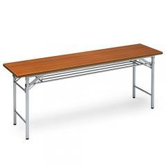 会議テーブル (折りたたみ式・木目 W1800×D450)