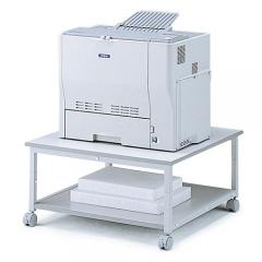 プリンター台 キャスター付 (レーザープリンタ対応・W700・H350)
