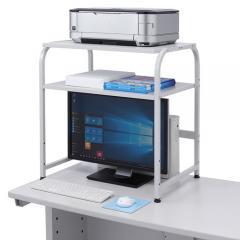 【決算セール】プリンター台(机上タイプ、W640mm×D450mm)