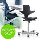 エルゴノミクスチェア(エルゴノミクスデザイン・capisco Plus・HAG社製・ブラック)